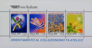 1999 Italia Collezionismo Filatelico MNH** Sheet 14804