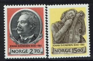 Norway SC# 982 - 983 - Mint Very Lightly Hinged - Lot 032617