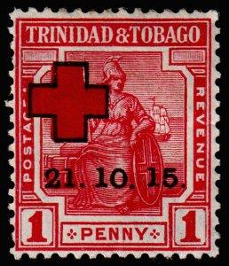 Trinidad & Tobago Scott B2 (1915) Mint H VF M