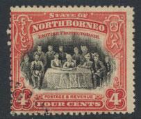 North Borneo  SG 164 SC# 140 Used CTO  perf 13½ x 14 see scan & details