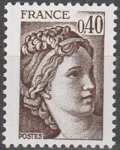 France #1658 MNH F-VF (SU4227)