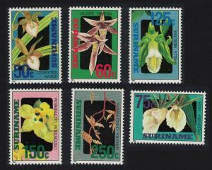 Suriname Orchids 6v SG#1508-1513