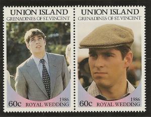 St. Vincent Grenadines  Union Island MNH S.C.#  228 - 231