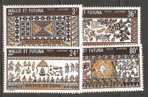 Wallis and Futuna Islands  SC   C56-9  Mint, Never Hinged