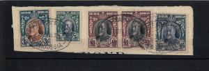 SOUTHERN RHODESIA:  FIELD MARSHALlS - SG 27 + REVENUE STAMPS on part of document