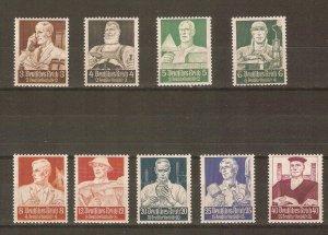 Germany 1934 professionals MNH