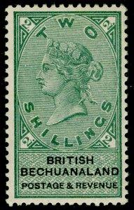 BECHUANALAND SG16, 2s green & black, NH MINT. Cat £70.