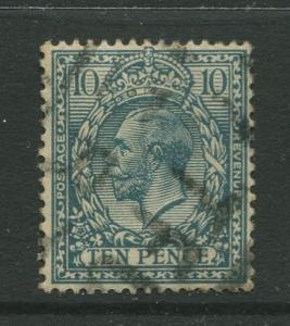Great Britain #199 FU 1924  Single 10p Stamp