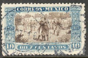 MEXICO 632, Centenary Abrazo de Acatempan USED  F-VF. (378)