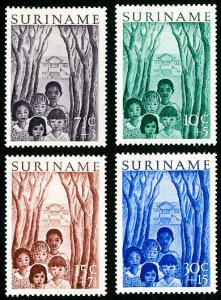 Suriname Stamps # B58-61 MLH VF Scott Value $21.00