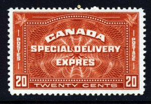 CANADA 1930 20c. Brown-Red SPECIAL DELIVERY Stamp SG S6 MINT