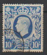 GB George VI  SG 478b Used
