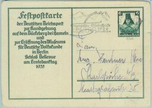 68204 - GERMANY Sarre - POSTAL  STATIONERY -  Winter Olympic postmark 1936