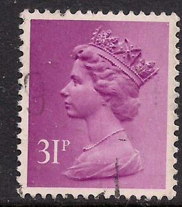 GB 1983 QE2 31p Purple Machin SG X981 ( 565 )
