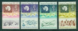 British Antarctic Territory #39-42  Mint VF  NH CV $59.75