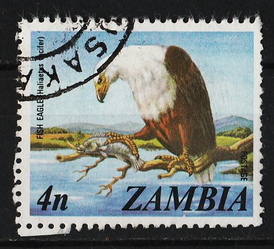 Zambia 1975 Culture, Fauna, Flora and Landscapes of Zambia 4n (1/14) USED