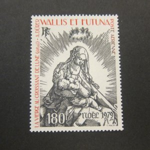 French Wallis and Futuna Islands 1979 Sc C98 Christmas Religion set MNH