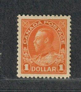 Canada Sc#122 M/NH/VF-EF, Cv. $240