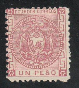 Ecuador - 1872 - SC 11 - HR