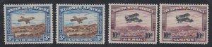 Southwest Africa - 1931 - SC C5a-b - C6a-b - MH - Complete set