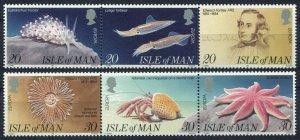 1994 Isle of Man 587-592strip Europa Cept / Marine fauna 6,50 €