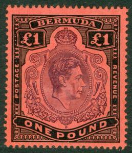 Bermuda: 1938. Stanley Gibbons #121 Frisch, Sehr Fein, Mint Nh. Katalog £275.00