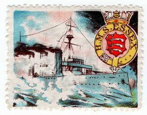 (I.B) Cinderella : Delandre Great War Ships - HMS Essex