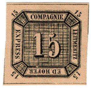(I.B) Germany Local Post : Express Packet Post 15nkr (Ed Hofer)