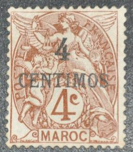 DYNAMITE Stamps: French Morocco Scott #14 – UNUSED