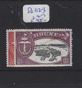 BRUNEI (P2609B)  $2.00, $5.00  SG 112-3   MOG