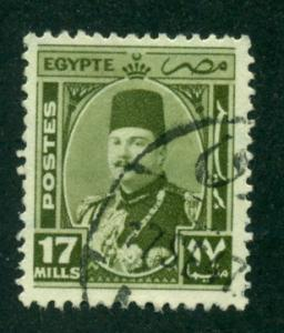 Egypt 1944 #249 U SCV(2014)=$0.25