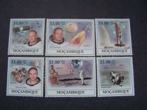 Mozambique 2009 MNH  First Man on Moon Astronomy Space Apollo 11