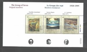 CANADA 1995, GROUP of SEVEN MS.#1559 - 1561, MNH