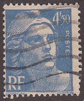 France 541b Hinged Used 1947 Marianne