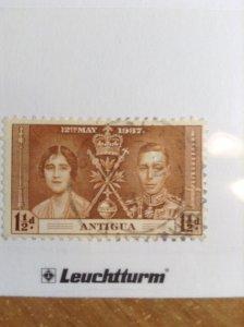 Antigua  # 82  Used