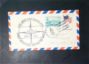 United States 1961 CGC Eastwind First WW Icebreaker Cover - Z2966