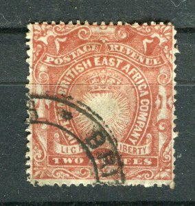 BRITISH KUT; 1890 classic E. Africa Company issue fine used 2R. value