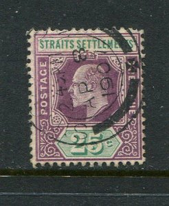 Straits Settlements #117 Used