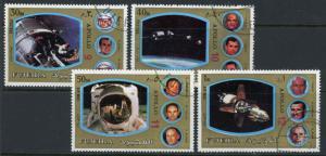 Fujeira MI1347-1350 Unused CTO