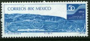 MEXICO 1144, 50th Anniv. Irrigation Project Netzahualcoyotl Dam. MINT, NH. F-VF.
