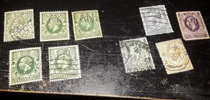 older Great Britain perf in's to shilling