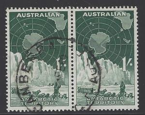 Australian Antarctic Territory Scott # L3, used, pair