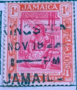 Jamaica #81 used. vF