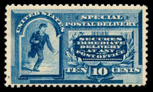 momen: US Stamps #E2 Mint OG NH F/VF