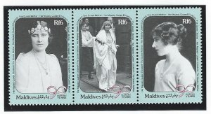 Maldive islands sheet mnh sc  1411-1413
