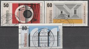 Germany #1387-9 F-VF Used  (S6382)