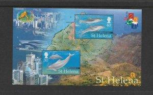 DOLPHINS - ST HELENA #761 MNH