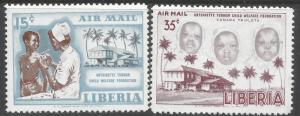 LIBERIA C111-12 MNH Z6662-2
