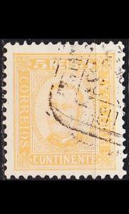PORTUGAL [1892] MiNr 0066 xA ( O/used )