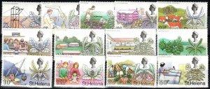 St Helena #244-56 MNH CV $10.60 (X7647)